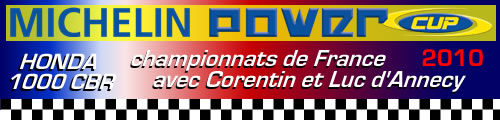 courses moto de la MICHELIN POWER CUP